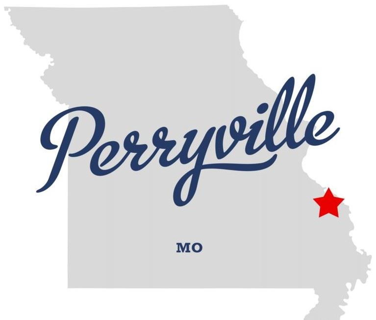 Map of Perryville