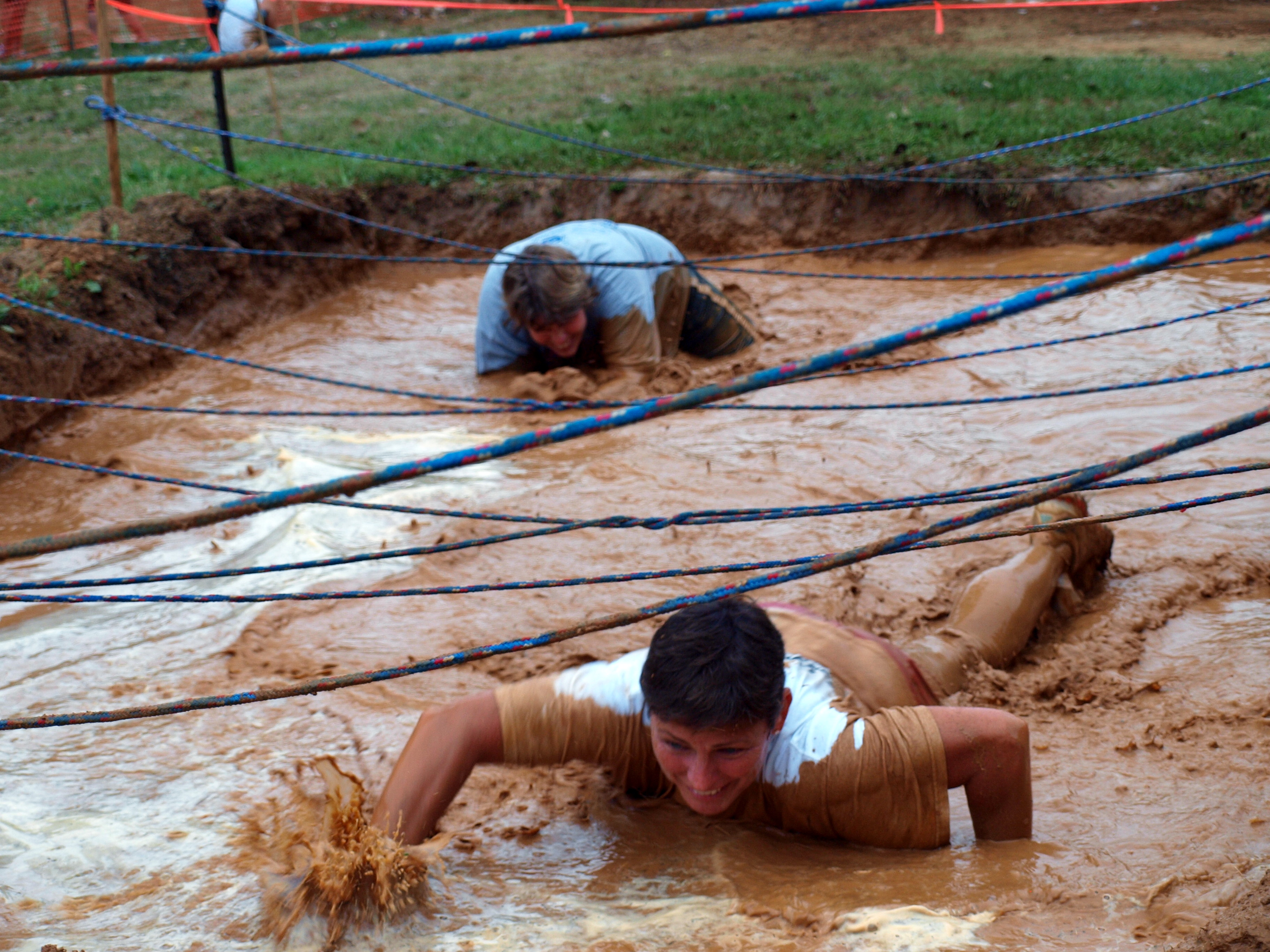 Crawling in the mud