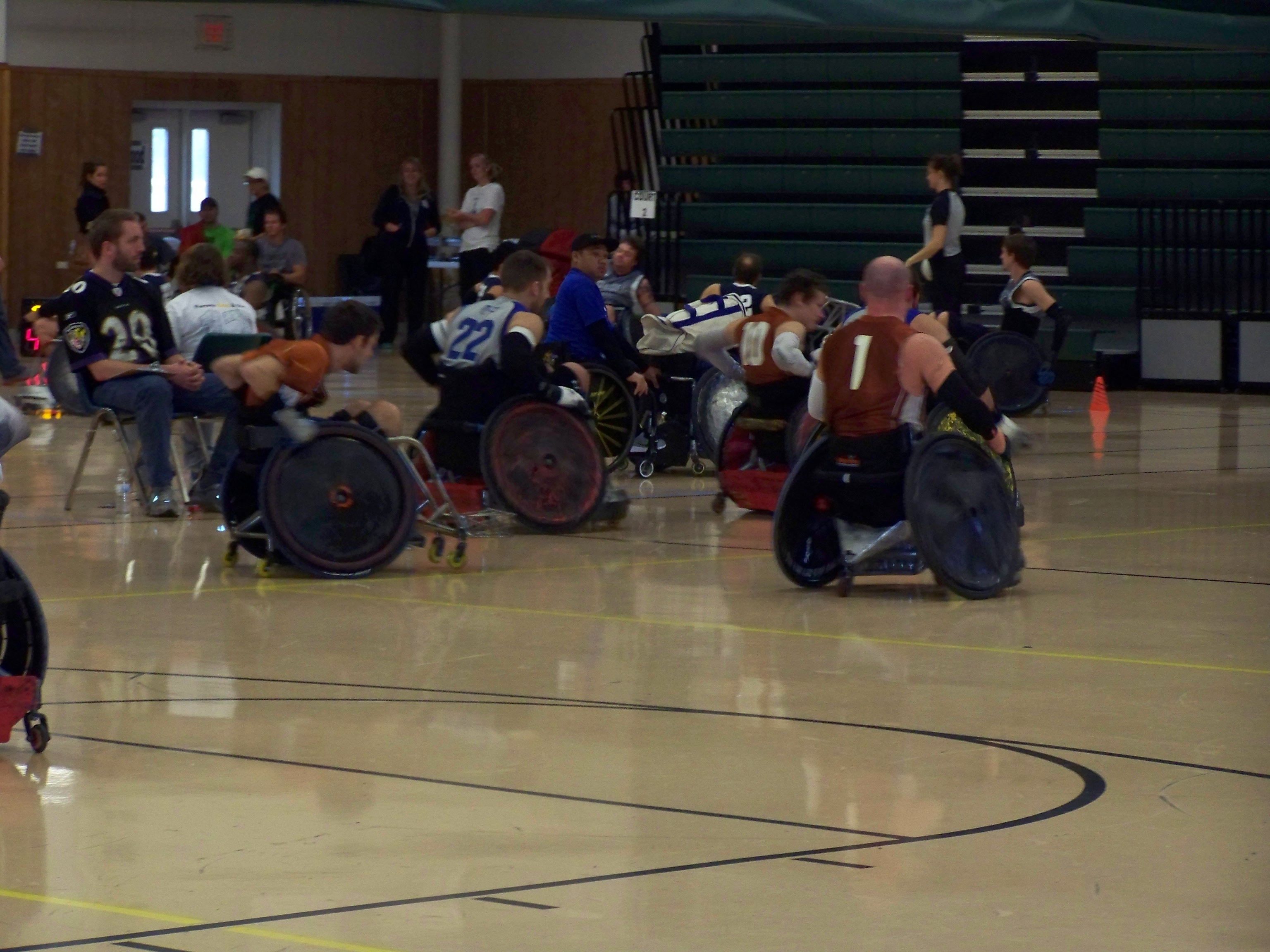 WheelChair Rugby 2012